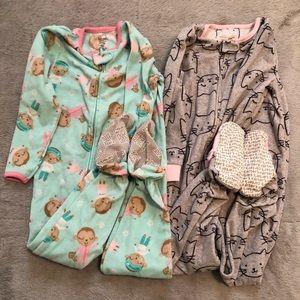 4T footed winter pajamas (2)